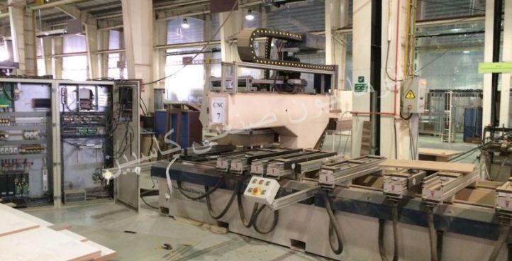 پروژه راه اندازی CNC چوب